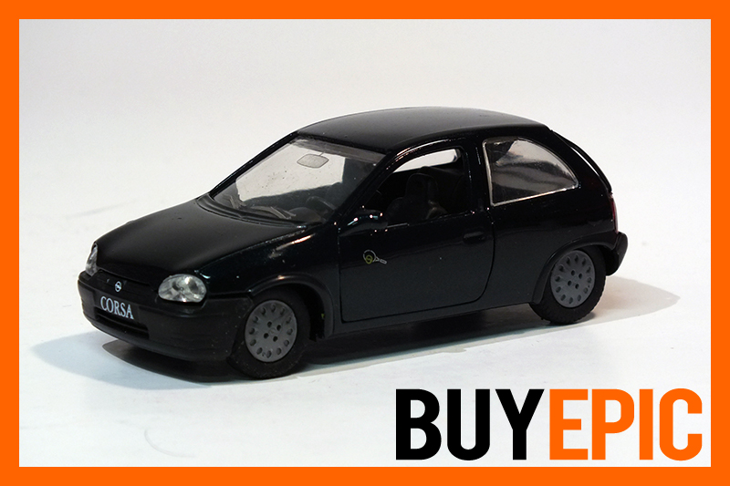 gama opel corsa b 3 t rer 1 43 grand slam edition gr n modellauto neu ovp ebay. Black Bedroom Furniture Sets. Home Design Ideas